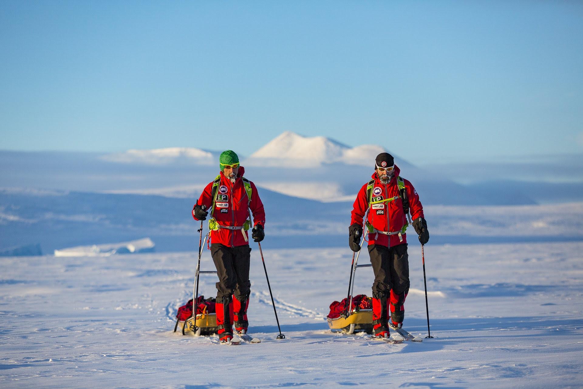 Photo of Stefano Gregoretti pronto a partire per la Kamchatka