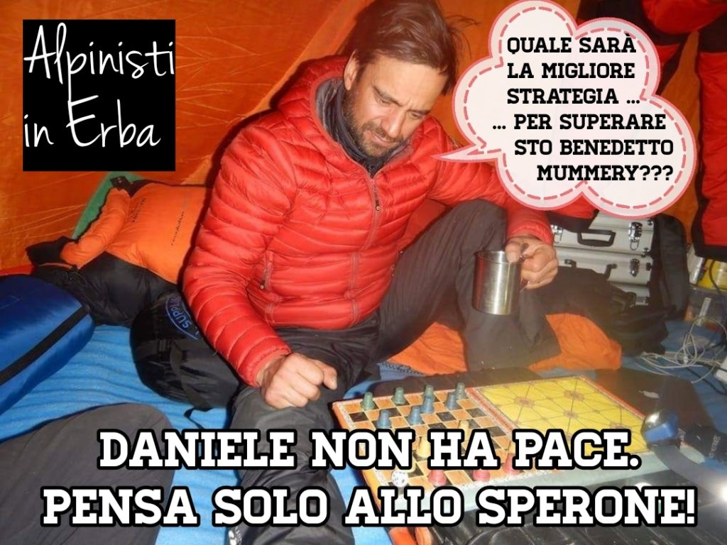 Alex Txikon, alpinisti in erba, daniele nardi, humor in quota, invernali, k2, Nanga Parbat, simone moro, sperone mummery