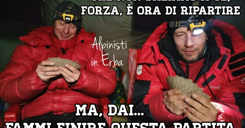 Alex Txikon, alpinisti in erba, daniele nardi, humor in quota, invernali, k2, Nanga Parbat, sperone mummery