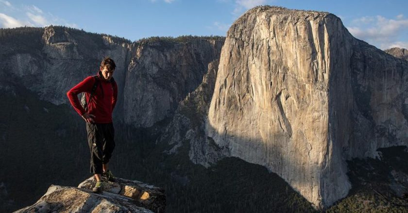 Alex Honnold, Free Solo, Elizabeth Vasarhelyi, Jimmy Chin, El Capitan, What if He falls, New York Times, Oscar