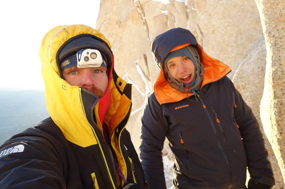 Max Didier, Siebe Vanhee, Patagonicos desesperados, Aguja Poincenot, Patagonia