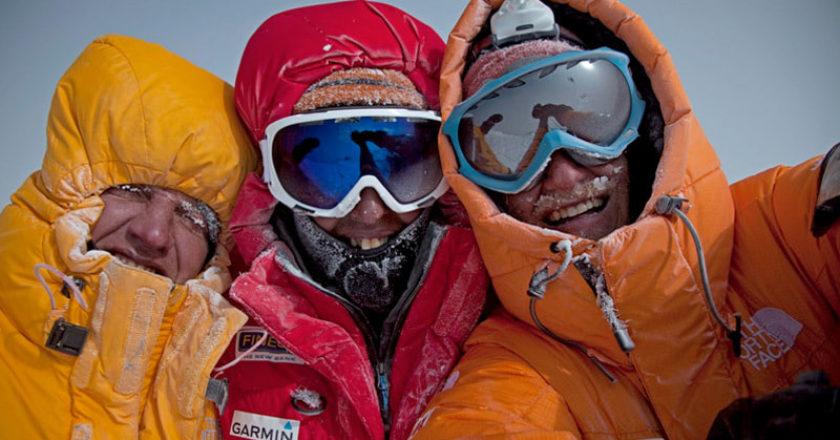 Gasherbrum II, Simone Moro, Denis Urubko, Cory Richards, prima invernale, Ottomila