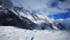 Il ghiacciaio ai piedi del K2