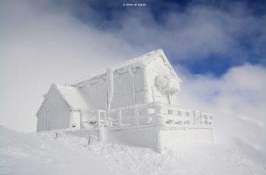 Rifugio Duca degli Abruzzi, Gran Sasso, galaverna, inverno, frozen, Denio Di Nardo