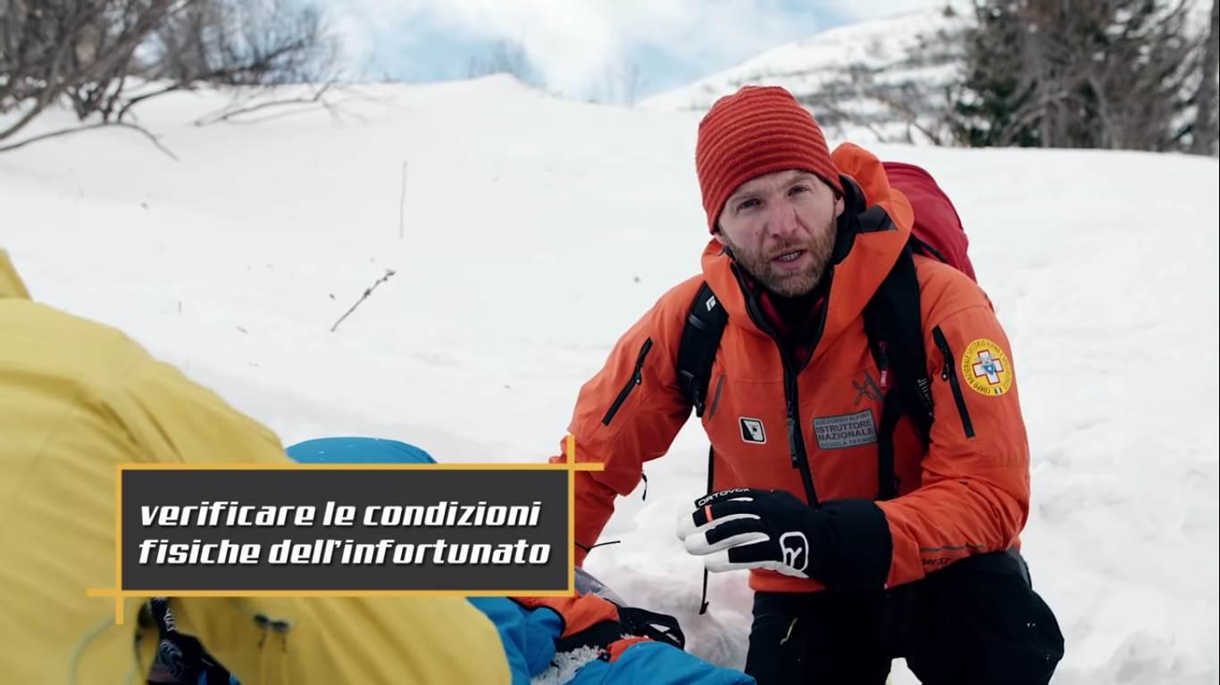 soccorso alpino, CNSAS, incidente, sicuri in montagna, tutorial