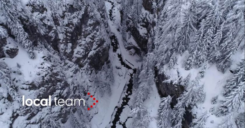neve, serrai di Sottoguda, Dolomiti, Marmolada, maltempo, drone, local team