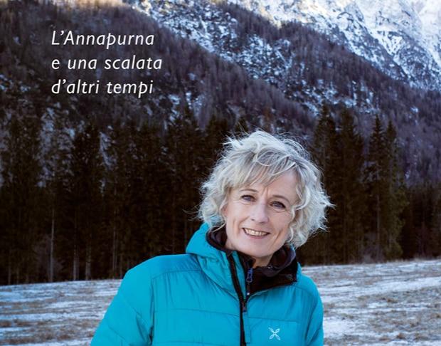 """Photo of """"Il volo del corvo timido. L'Annapurna e una scalata d'altri tempi"""". In uscita l'ultimo libro di Nives Meroi"""