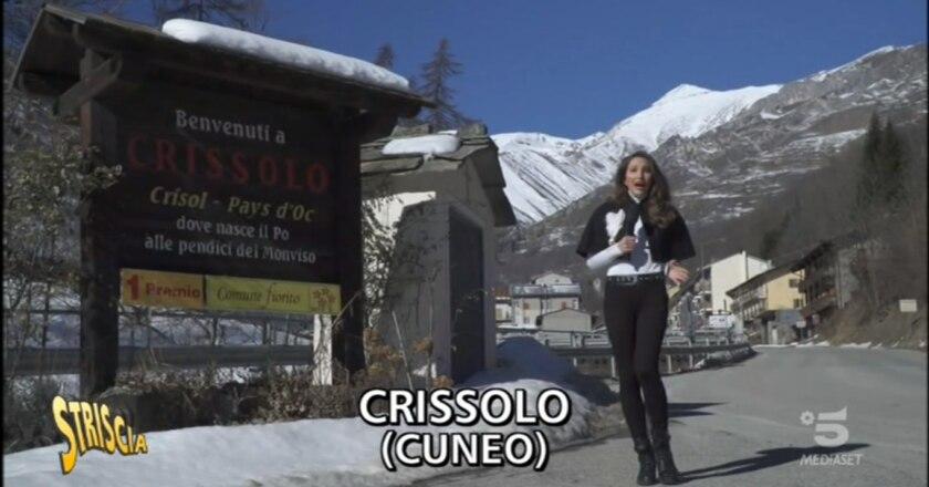 Striscia la Notizia, Chiara Squaglia, Canale 5, Crissolo, Valle Po