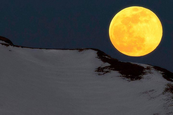 Photo of Superluna di febbraio. Realizza con noi la gallery di montagna.tv!