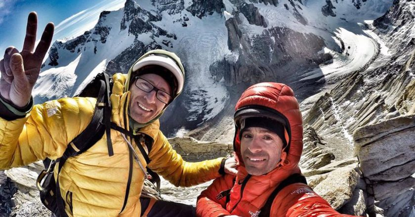 Hermanos Pou. Aguja de la S, Patagonia, Haizea, stile alpino