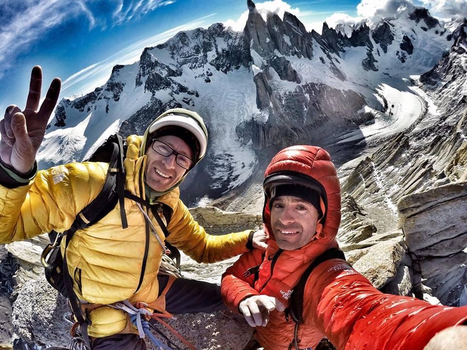 Photo of Una nuova via in Patagonia per i fratelli Pou