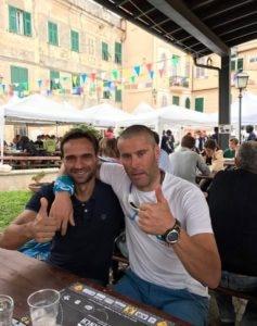 Daniele e Marco a Finale for Nepal nel 2017