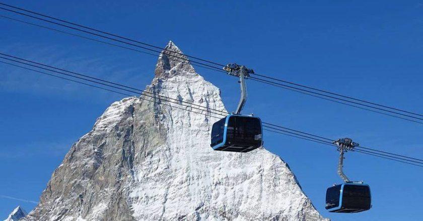 Zermatt, Cervinia, Alpine Crossing, funivia, Svizzera, Matterhorn