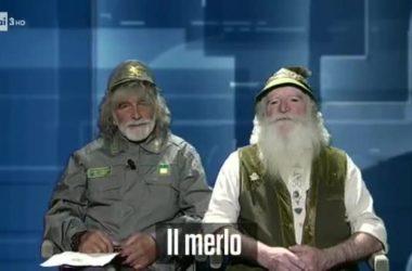 Mauro Corona, Costante, boscaiolo, canto di primavera, Cartabianca, Bianca Berlinguer, RAI