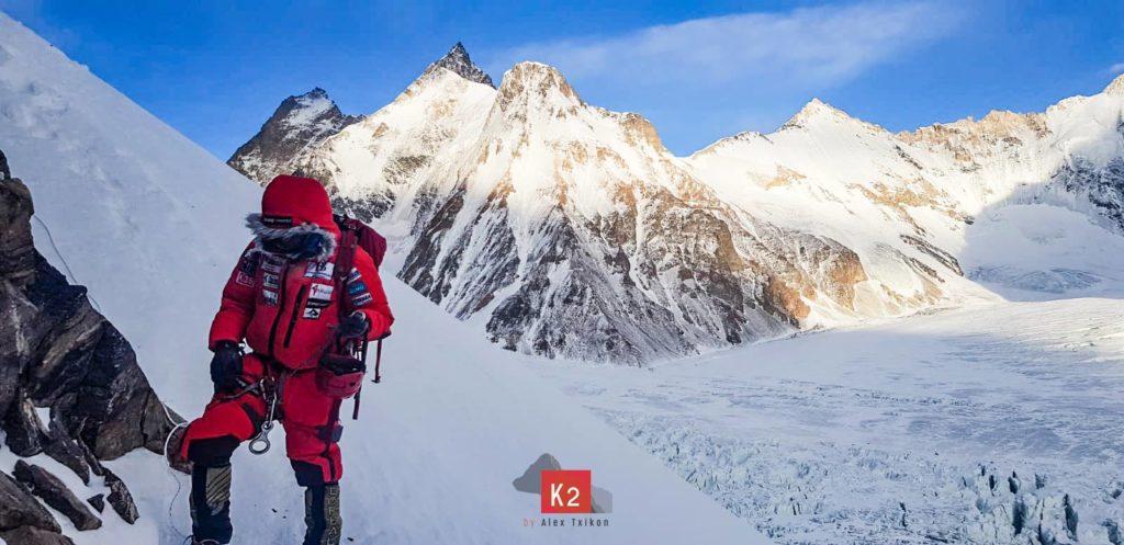 alex txikon, invernale, k2, alpinismo