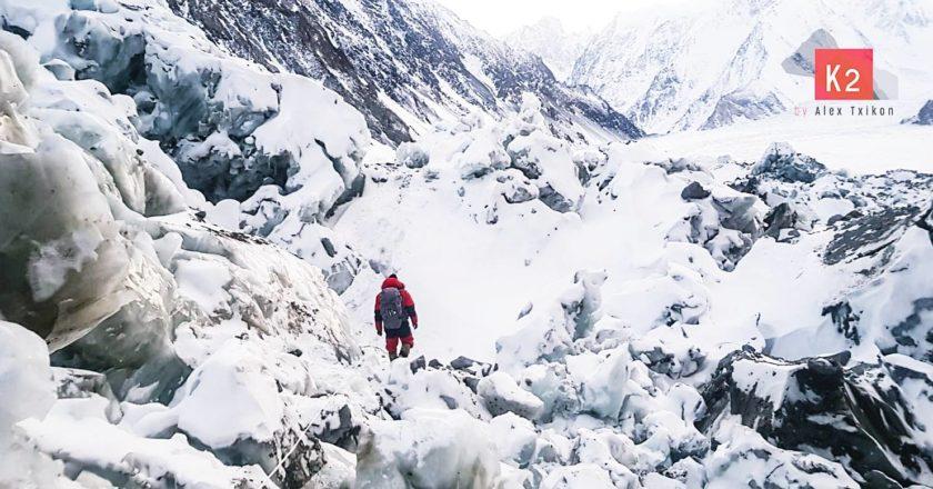alex txikon, alpinismo, k2, invernale