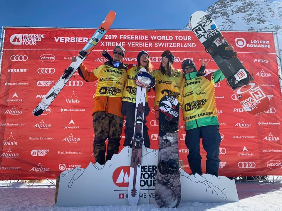 Photo of Markus Eder e Arianna Tricomi tingono di tricolore il podio del Freeride World Tour