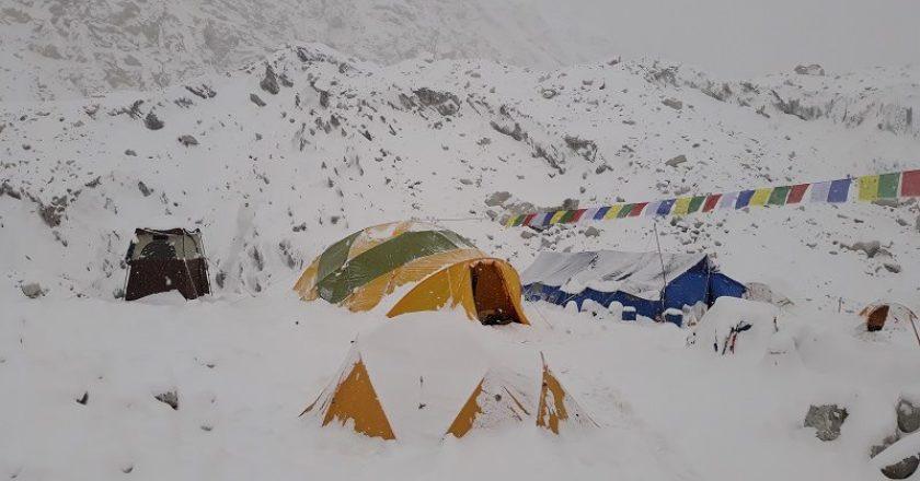 Marcin Tomaszweski, Dmitry Golovchenko, Sergey Nilov, Jannu East, Himalaya, Nepal