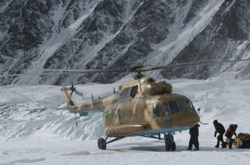 Photo of Nanga Parbat: causa maltempo gli elicotteri rientrano a Skardu