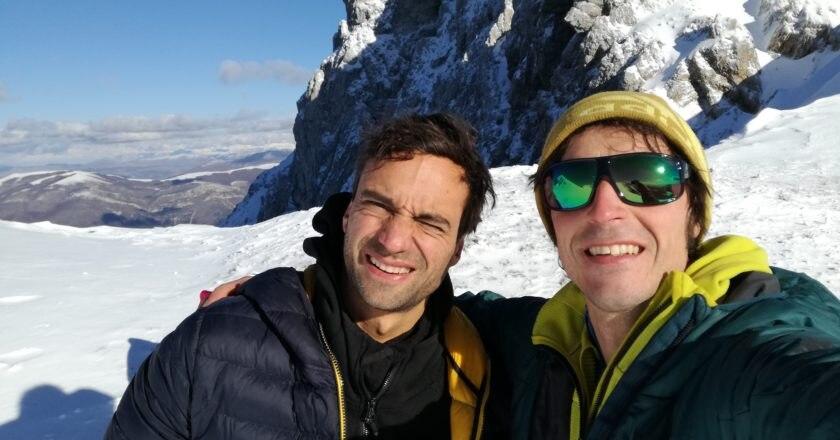 Daniele Nardi con Matteo Della Bordella