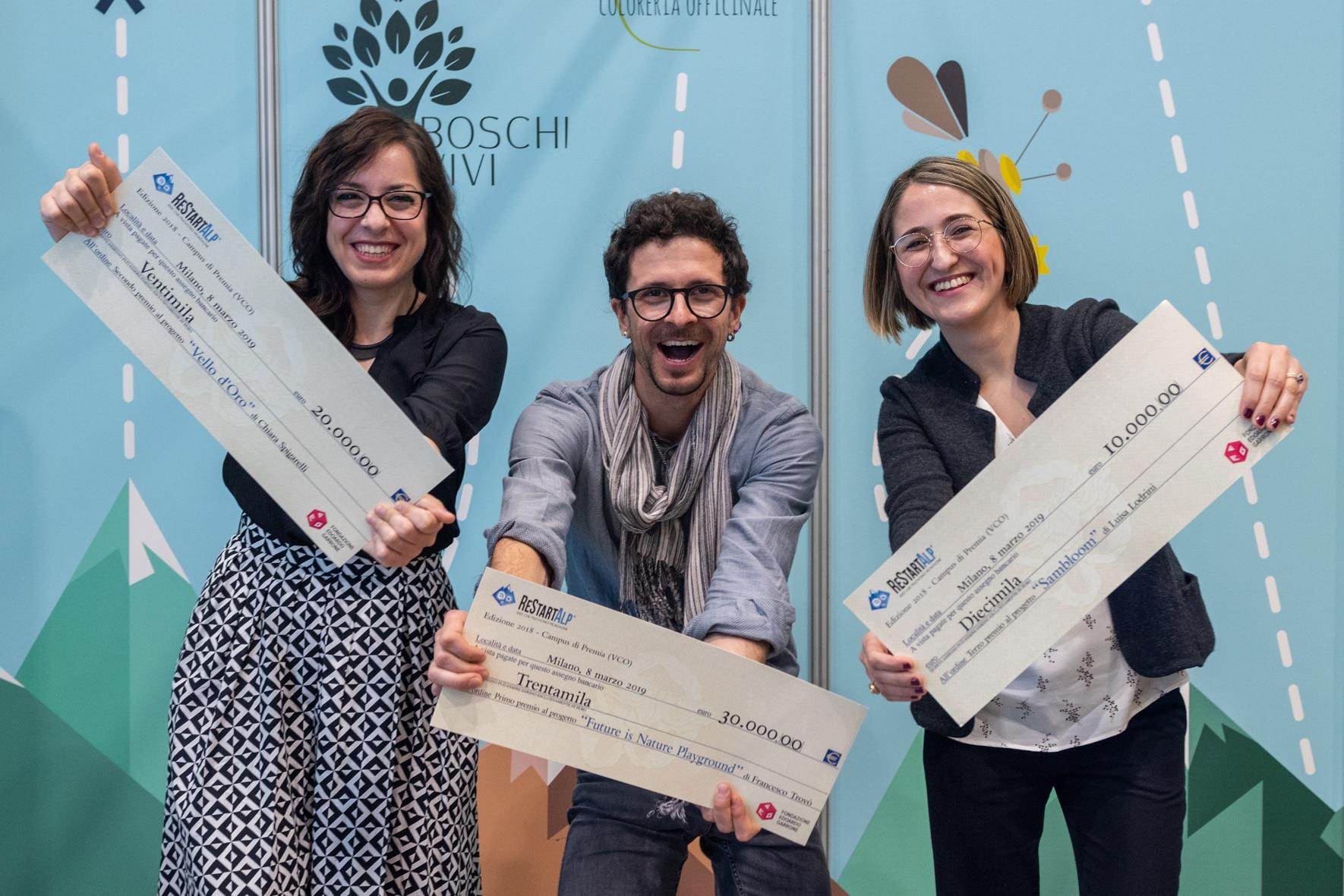 Photo of I progetti dei tre giovani vincitori di ReStartAlp, l'incubatore d'impresa per il rilancio della montagna