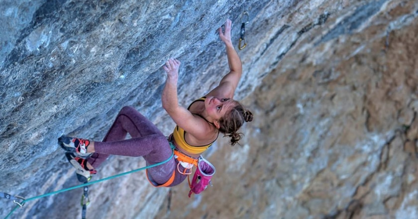 arrampicata sportiva, arrampicata, margo hayes,