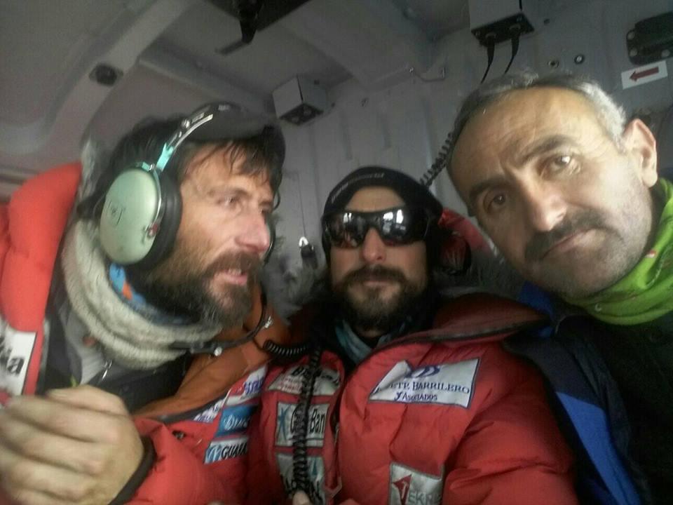 Photo of Nardi-Ballard: elicotteri arrivati al Nanga Parbat. Fatta una ricognizione, ora tocca ai droni di Txikon