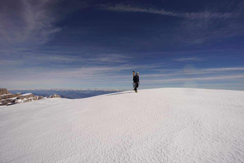 Photo of Cima Tosa: prima discesa con gli sci della parete Est