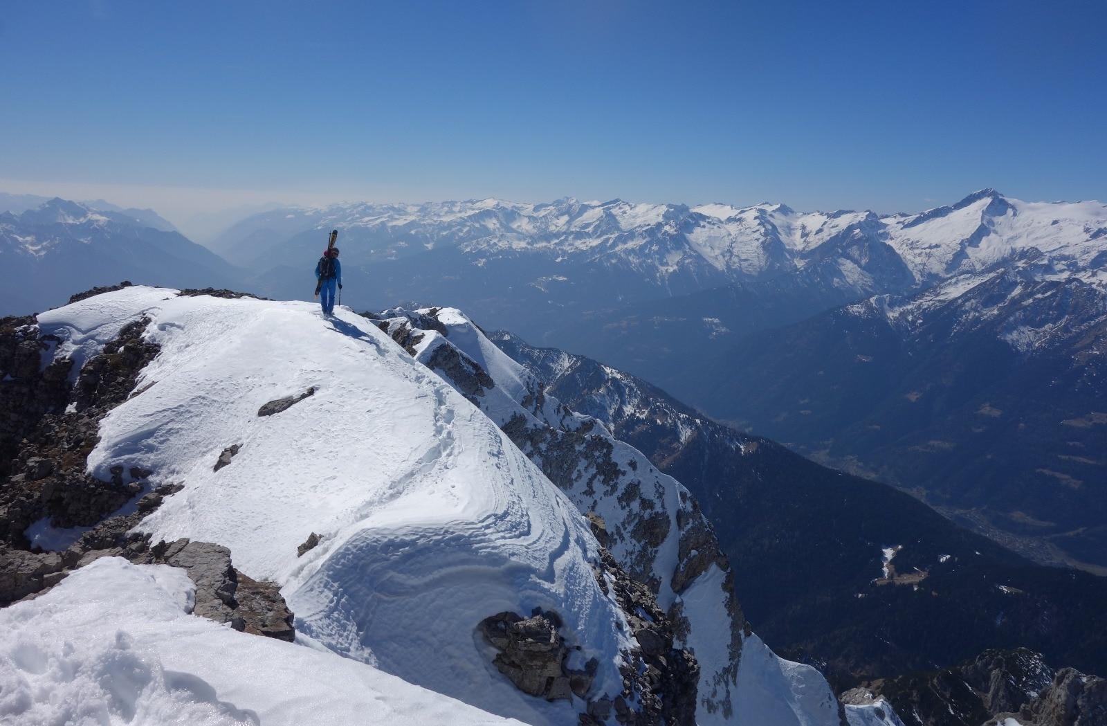 Photo of Cima del Vallon, nuova discesa con gli sci