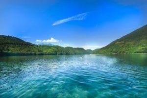 Times Londra, Lago Iseo, lago Levico, Lago Ledro, Alpi