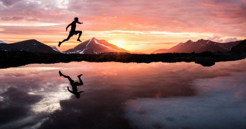 Kilian Jornet, fiordi, Norvegia, training, running