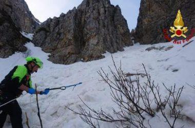 valanga, soccorso alpino, pasubio