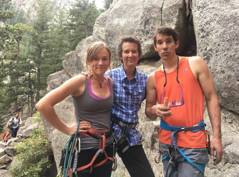 Dierdre Wolownick, Alex Honnold, climber, El Cap, Yosemite Free Solo
