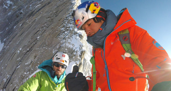 Hansjoerg Auer, david lama, valanga, alpinismo