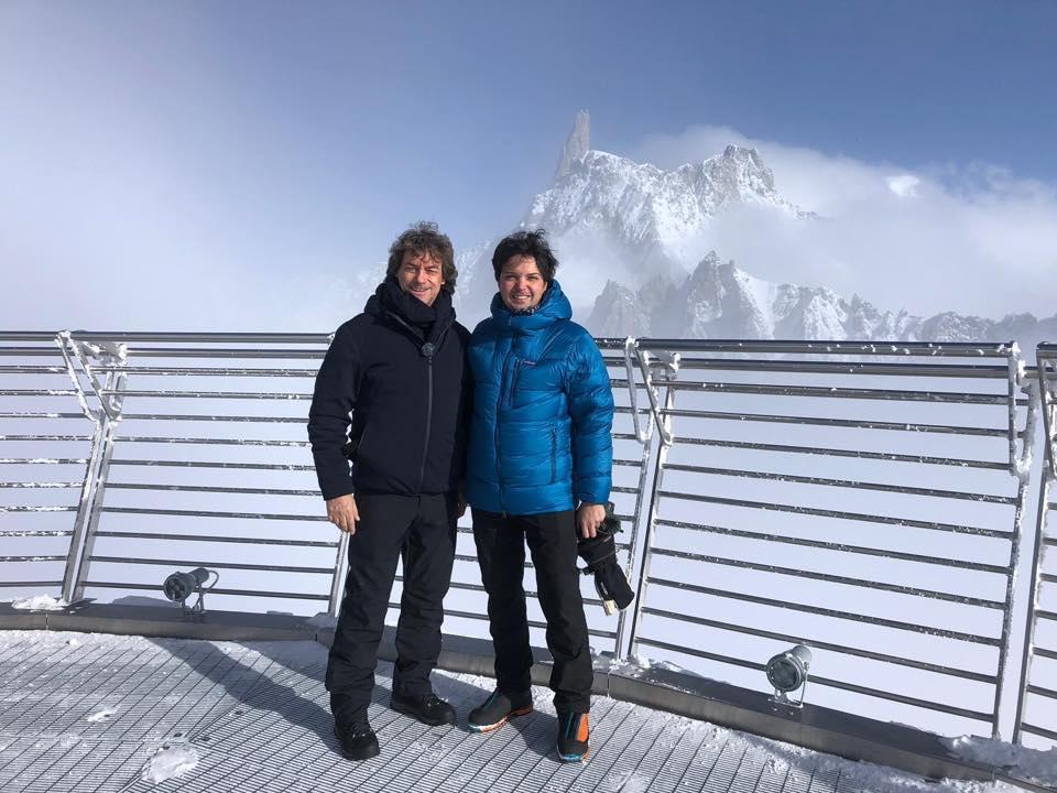 Photo of Alberto Angela alla scoperta della storia del Monte Bianco