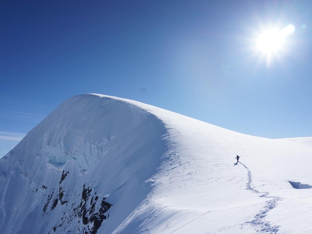 Photo of Alaska. Una nuova via sul Monte Dickey per Jackson Marvell e Alan Rousseau