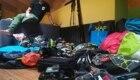 Yanez alle prese con la preparazione dei bagagli - Foto FB @Yanez Borella