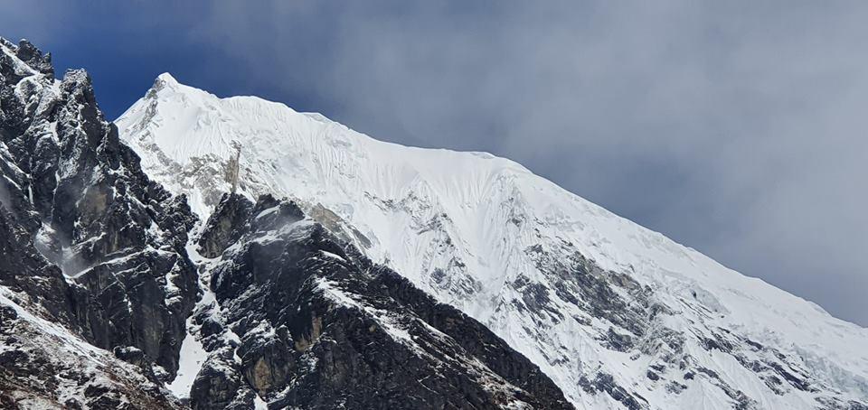 Photo of Adam Bielecki e Felix Berg. Acclimatazione impegnativa sul Langtang Lirung prima dell'Annapurna