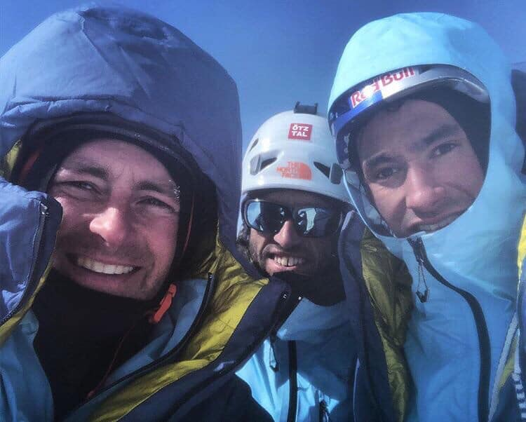 Hansjorg Auer, David Lama, Jess Roskelley, Howse Peak, Banff National Park, Canada, Parks Canada