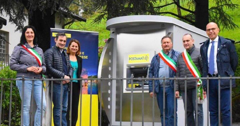 poste italiane, postamat, Uncem, Piazzolo, servizi
