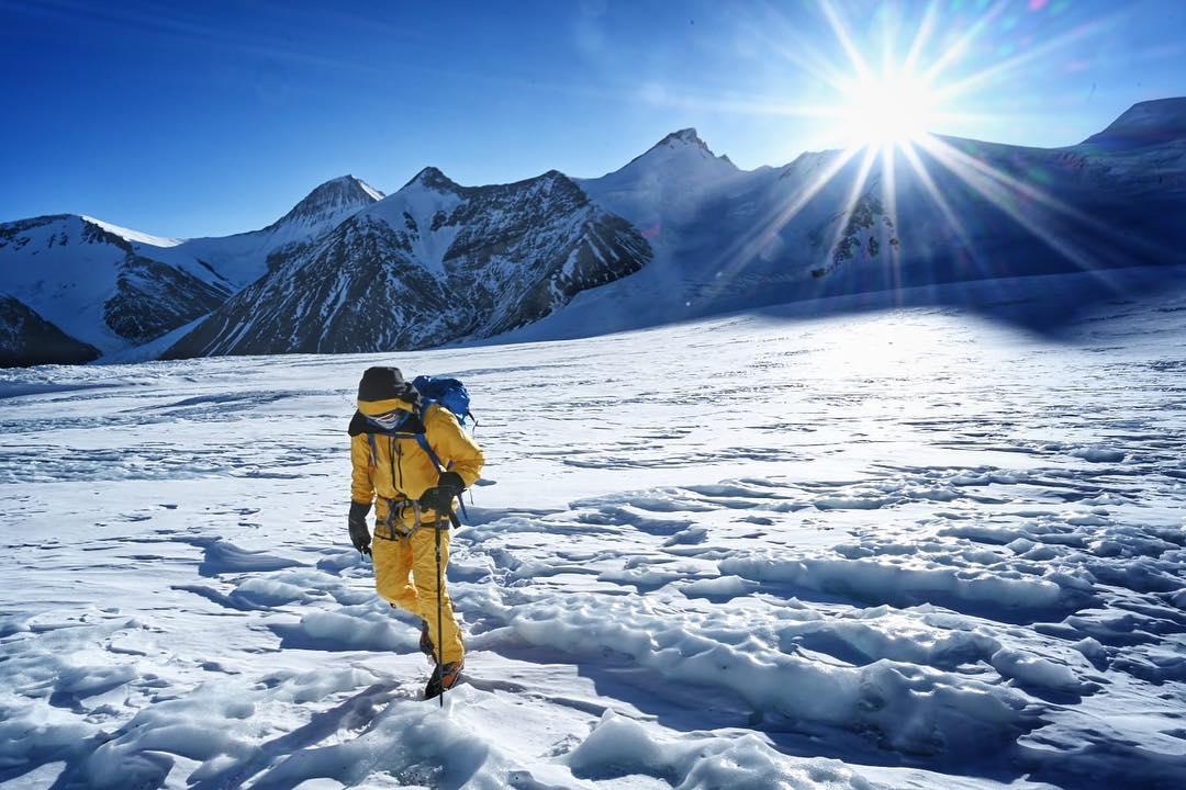 cory richards, esteban mena, everest, rongbuk glacier