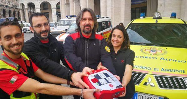 defibrillatori, liguria, soccorso alpino