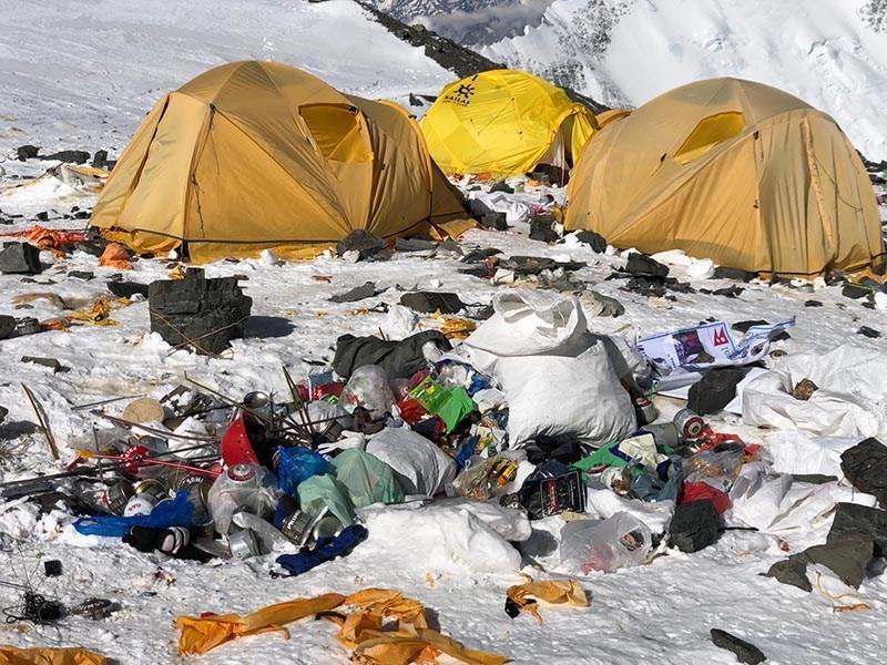 everest, alpinismo, himalaya, rifiuti