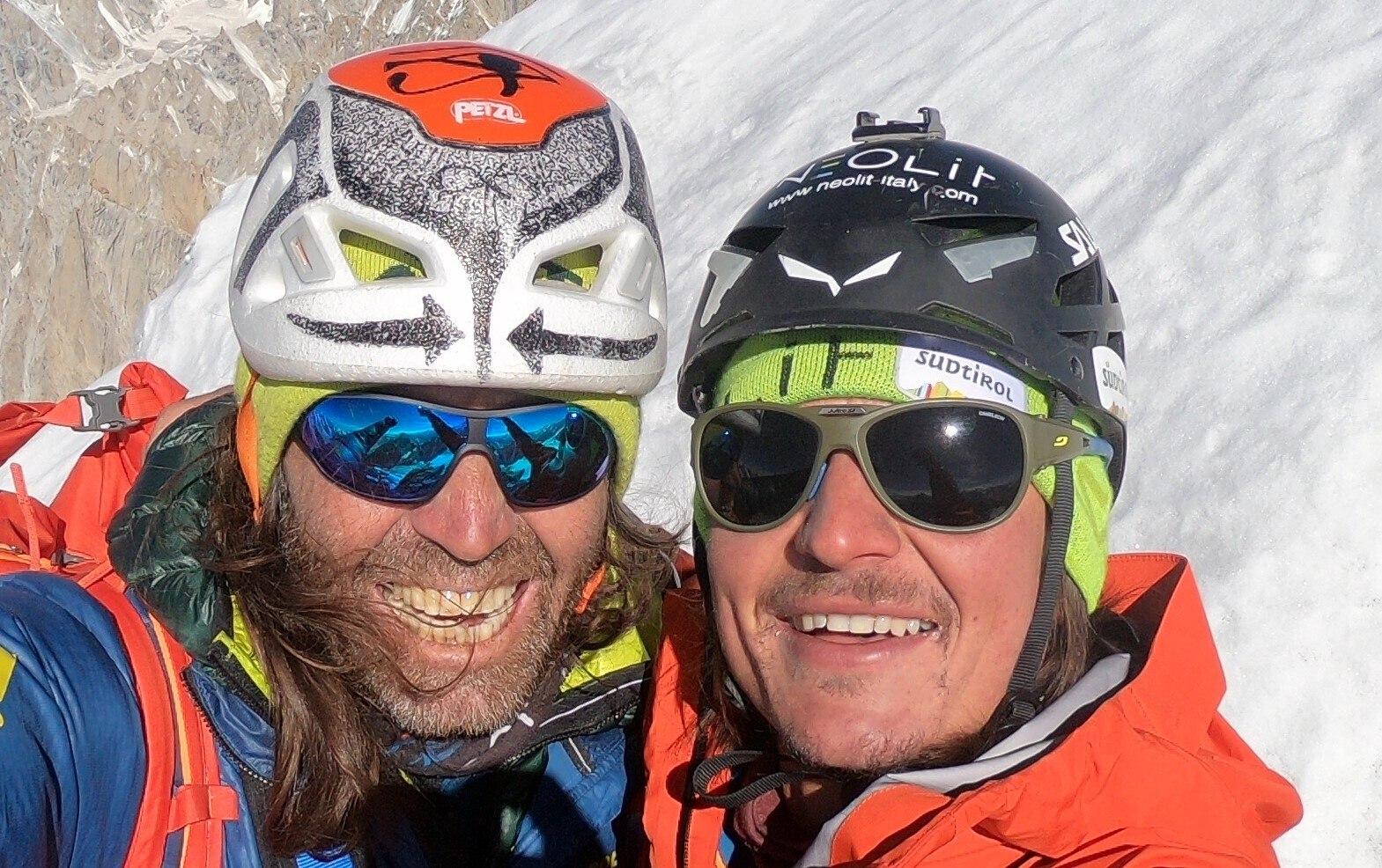 Photo of Simon Gietl e Thomas Huber si preparano a tornare sulla Nord del Latok I