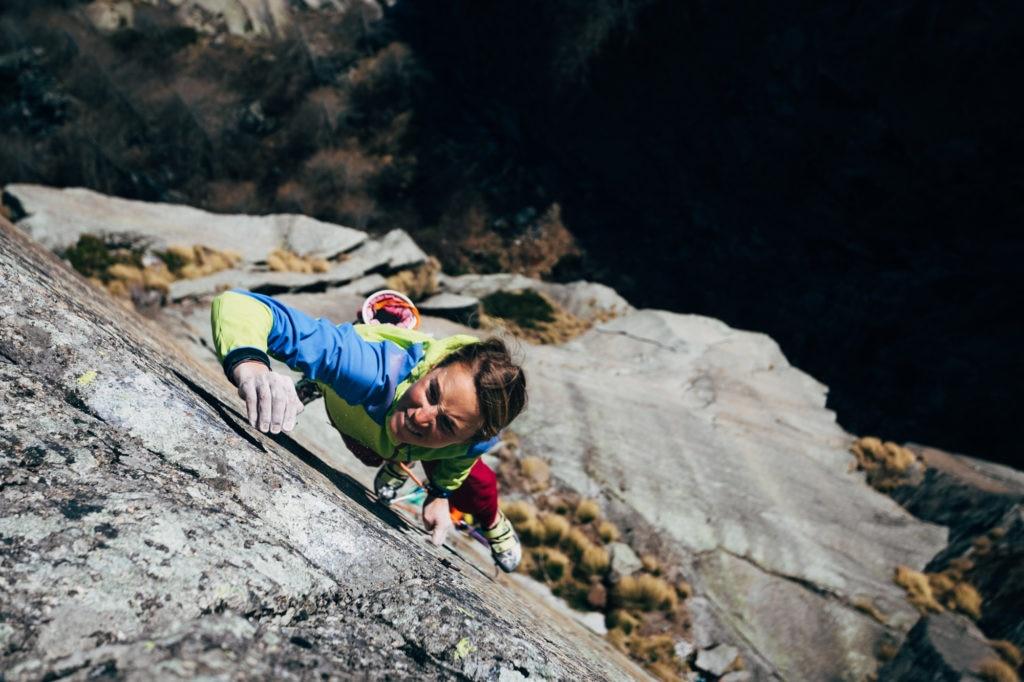 Federica Mingolla in arrampicata. Foto Federico Ravassard