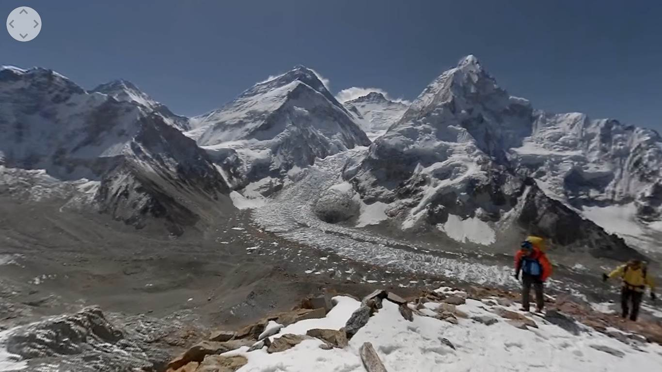 "Photo of ""Everest VR"". Salire l'Everest senza ossigeno con Tenji Sherpa grazie alla realtà virtuale"