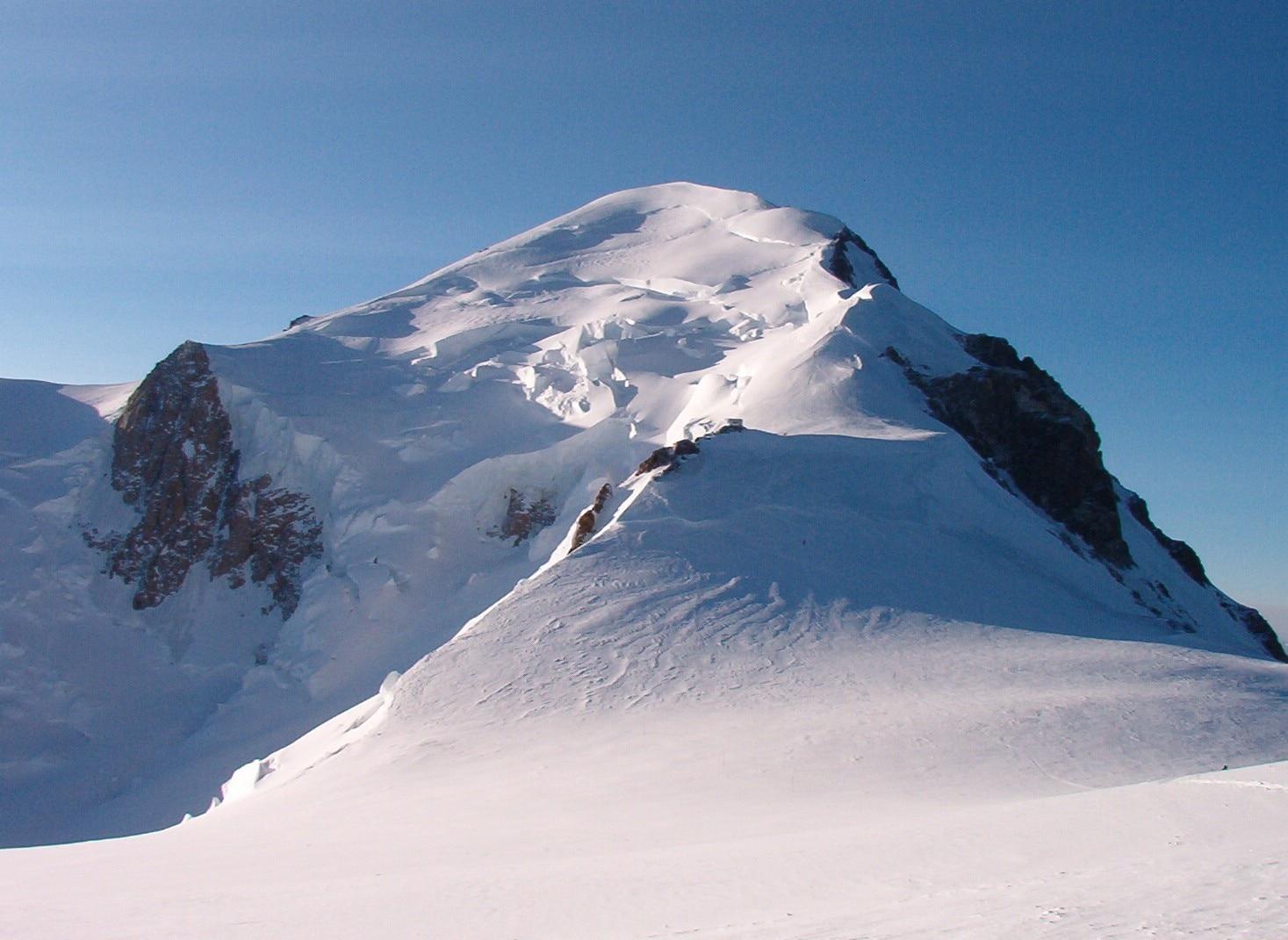 monte bianco, alpinismo