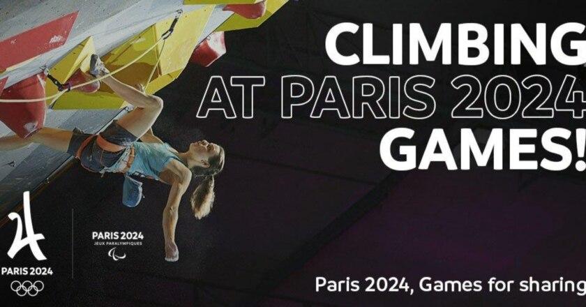 arrampicata, arrampicata sportiva, olimpiadi, parigi 2024