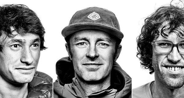David Lama, Hansiörg Auer e Jess Roskelley, alpinismo, canada