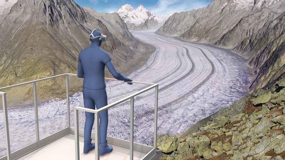 Photo of Viaggiare sulle Alpi del futuro grazie alla realtà virtuale